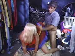 Danielle Martin gets Flash Drilled by Billy Dee