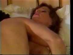 Vintage porn with this brunette sucking and fucking hard cock